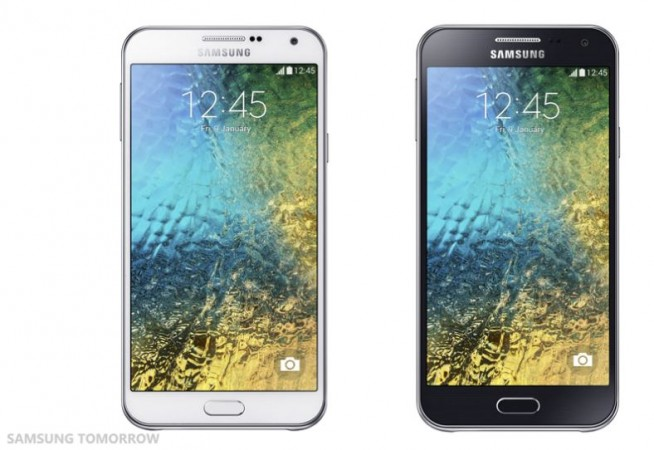 Samsung Launches Galaxy A5, A3, E7, E5 Mid-Range Android Smartphones in India; Price, Specifications