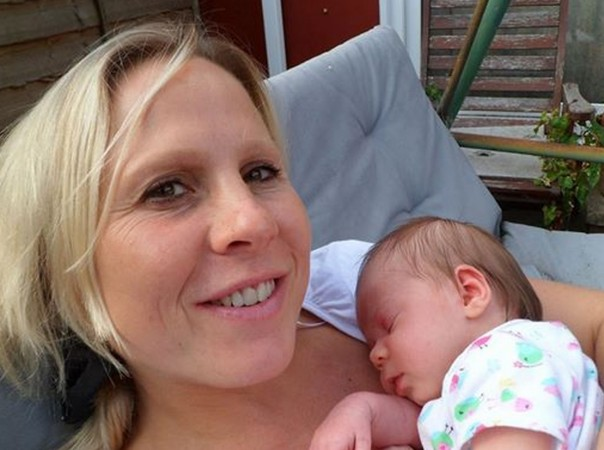 Allison Noyce and her miracle baby