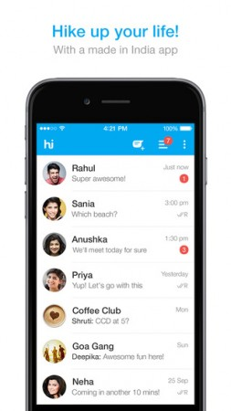 Hike Messenger Challenges WhatsApp With Upcoming Voice-Calling Feature