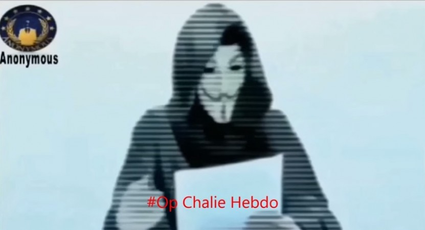The Anonymous video which says,