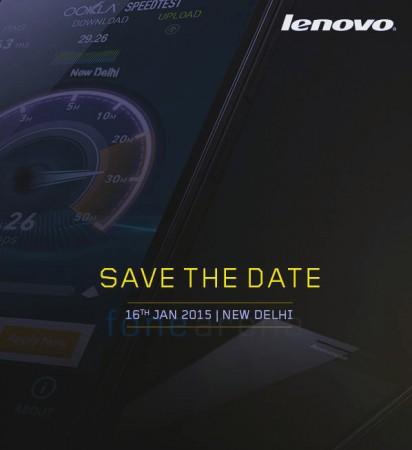 Lenovo sends a press invitation for A6000 exclusive release