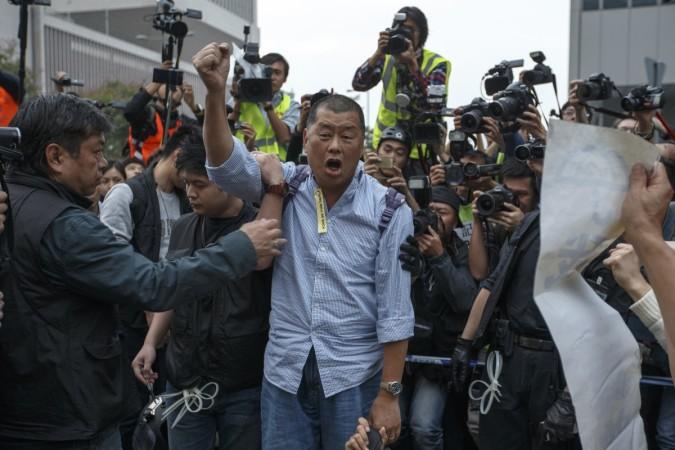 Jimmy Lai Hong KOng