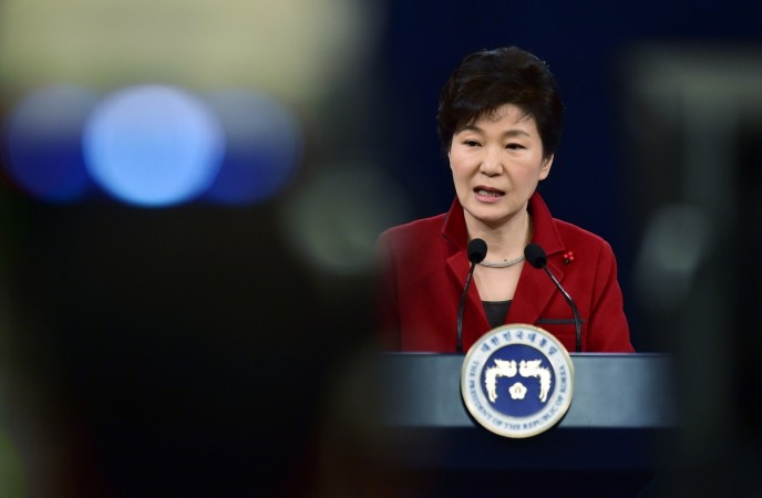 South Korean President Park Guen-hye