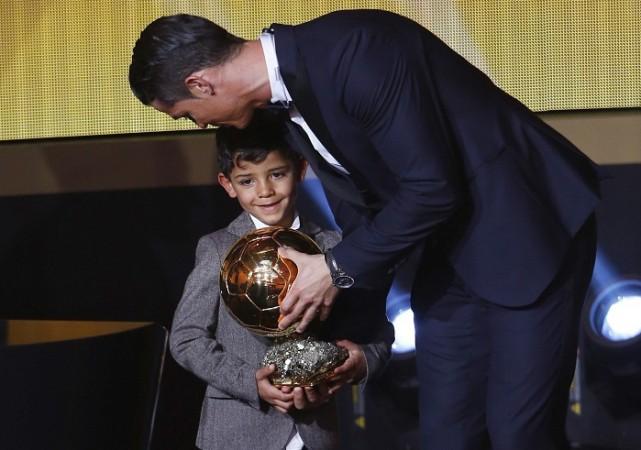 Cristiano Ronaldo Son FIFA Ballon d'Or