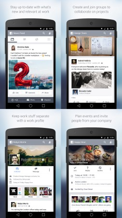 Facebook At Work Android App