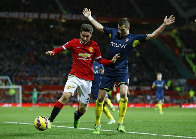 Ander Herrera Manchester United Morgan Schneiderlin Southampton