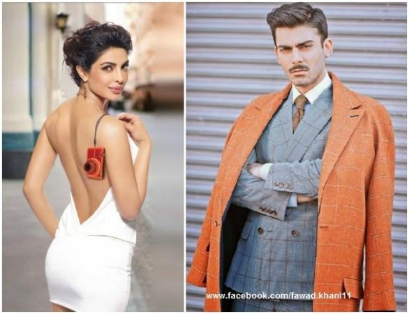Priyanka Chopra and Fawad Khan