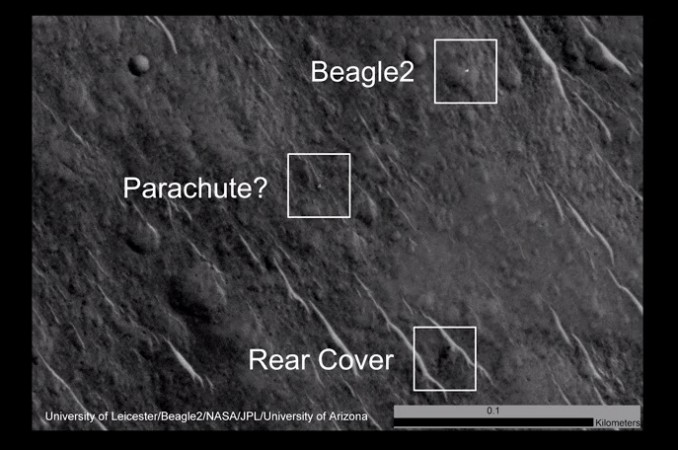 Beagle 2 was thought to be an unsuccessful British landing spacecraft that formed part of the European Space Agency's Mars Express mission.