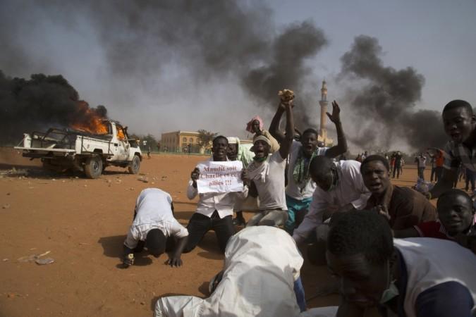 Charlie Hebdo riots in Niger