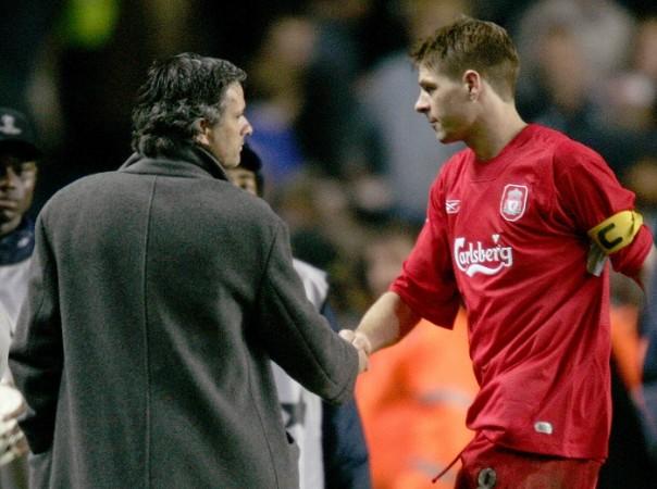 Jose Mourinho Steven Gerrard