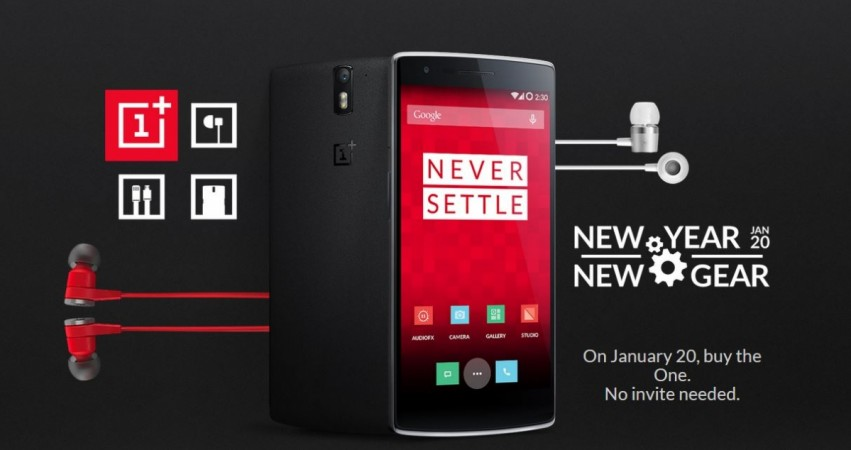 OnePlus One to Go on Sale on 20 January; No Invites Needed, Says the Company