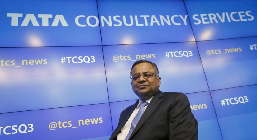 TCS CEO N.Chandrasekaran