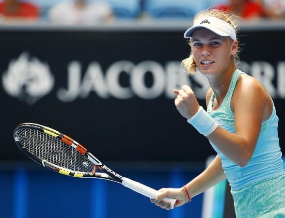 Caroline Wozniacki Australian Open 2015