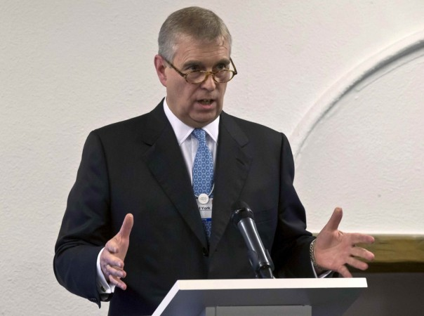 In a televised address, Prince Andrew emphasized denials of having sex with Virginian Roberts.