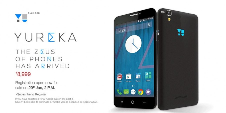 Micromax YU Yureka Registration for 29 January Flash Sale Goes Live on Amazon India
