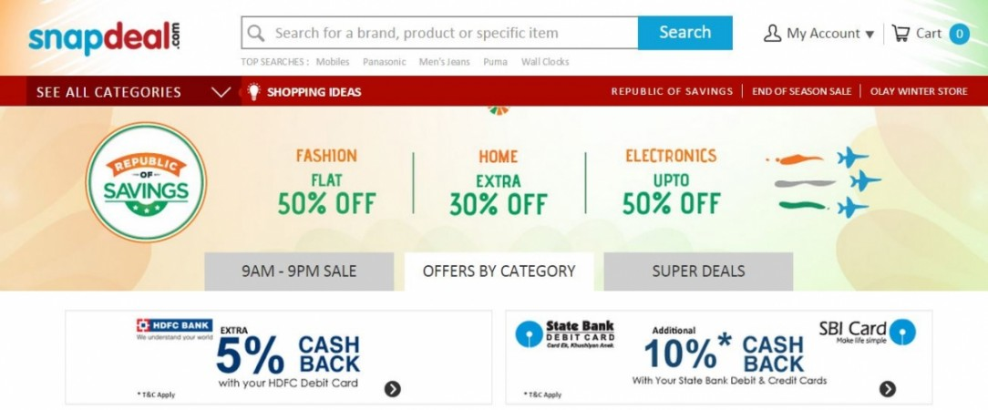 Snapdeal Republic of Savings Sale: Best Deals on Smartphones and Tablets
