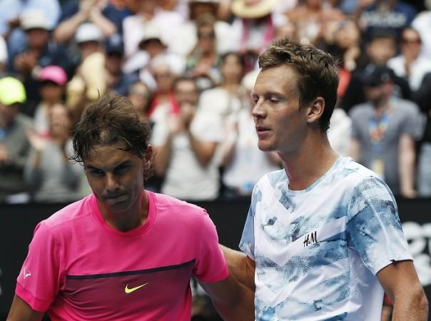 Rafael Nadal Tomas Berdych Australian Open 2015