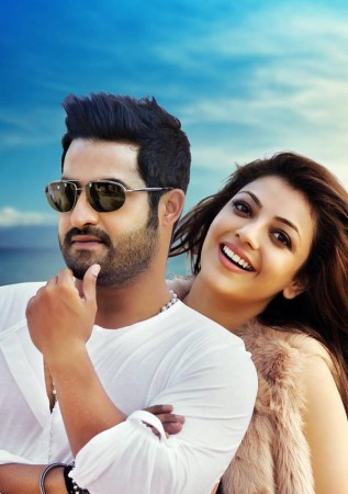 Junior NTR and Kajal Aggarwal in