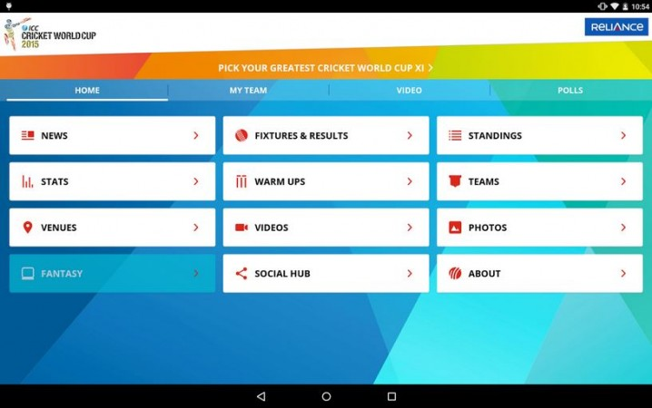 Cricket World Cup 2015: ICC Officially Releases Smartphone App to Bring Live Score Updates and More