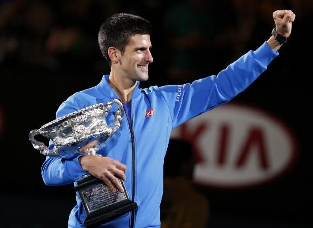 Novak Djokovic Australian Open 2015