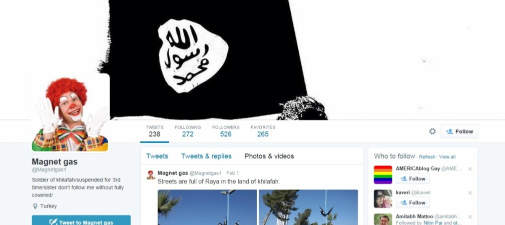 pro-ISIS twitter Magnet Gas