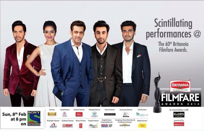 60th Britannia Filmfare Awards 2014
