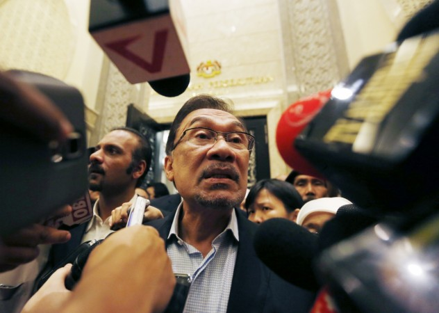 Malaysian opposition leader Anwar Ibrahim