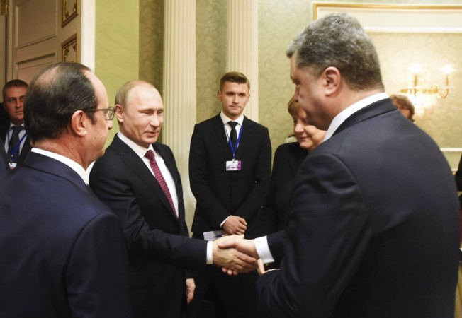 Leaders of Russia, Ukraine, Germany and France have been meeting to hammer out some kind of a resolution to the war in East Ukraine.