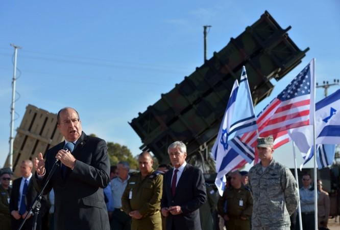 Israeli Defense Minister Moshe Ya'alon
