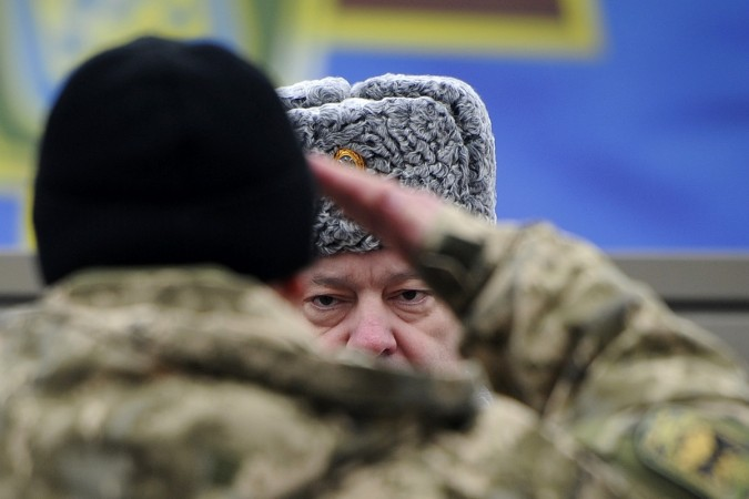 Ukrainian president has accused Russia of increasing their offensive against Kiev troops a day ahead of what a ceasefire.