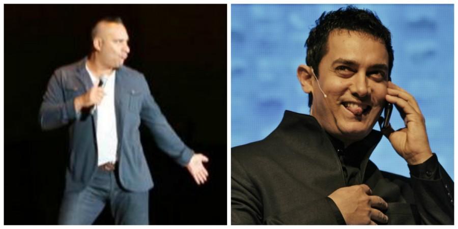 Russell Peters, Aamir Khan