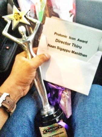 Director Thiru receives Protonic Icon Award