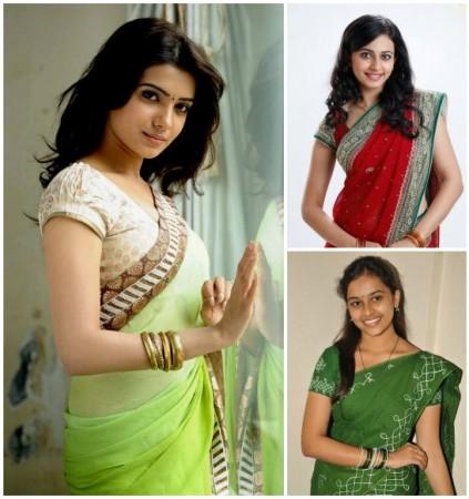 Samantha, Rakul Preet Singh and Sri Divya