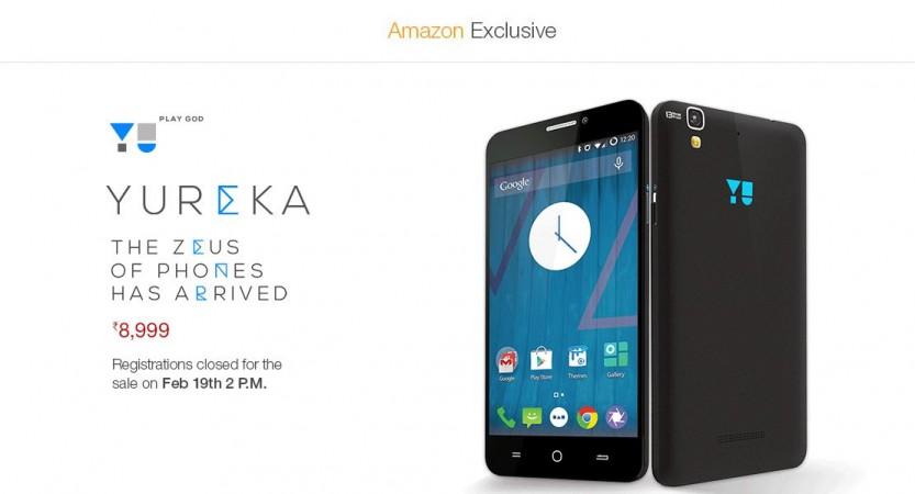 Micromax YU Yureka Amazon India Flash Sale 6.0 to Go Live on 19 February