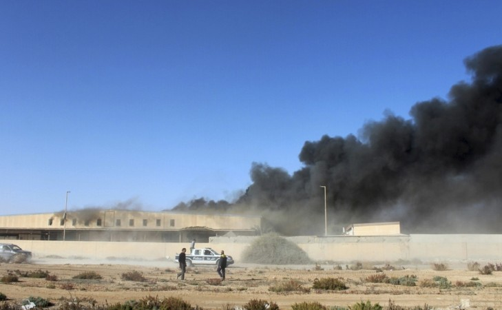 Libya air strike