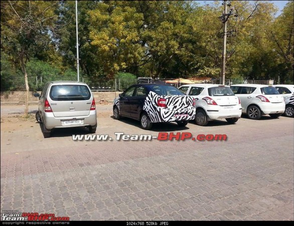 Ford Full-Size Figo Sedan Spied Testing in India for First Time [PHOTOS]