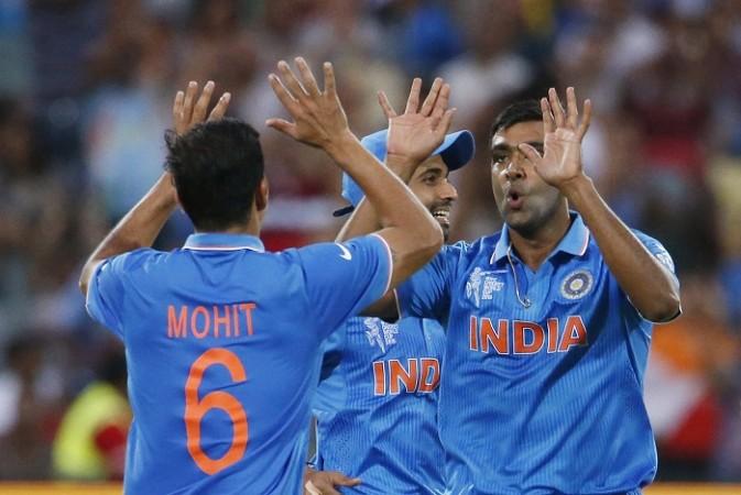 Mohit Sharma R Ashwin India