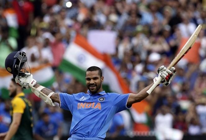 Shikhar Dhawan India World Cup