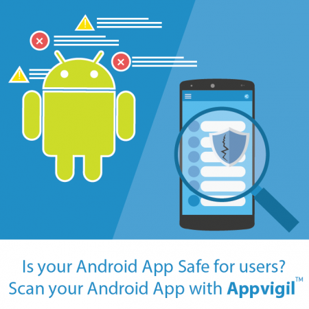 Appvigil is a cloud based android app security scanner