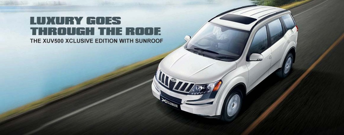 Mahindra Launches XUV500 Xclusive Edition with Sunroof; Price, Feature Details [PHOTOS]