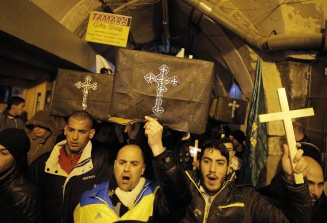 21 Egyptian Christians who were beheaded by Islamic State