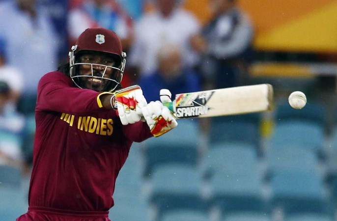 Chris Gayle West Indies Record World Cup 2015