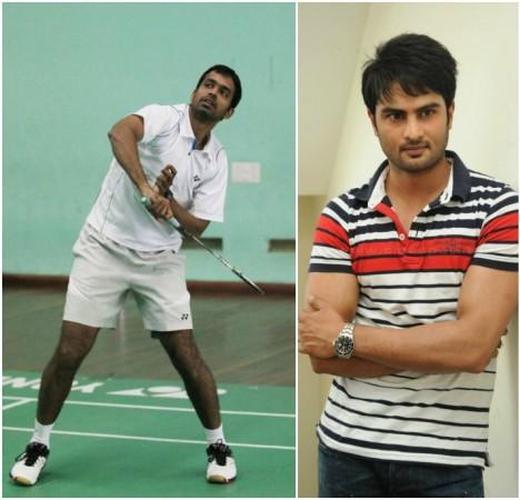 Pullela Gopichand and Sudheer Babu