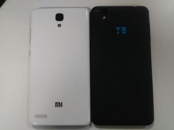 yu yureka vs Redmi Note 4G built