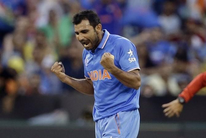 Mohammad Shami India World Cup 2015
