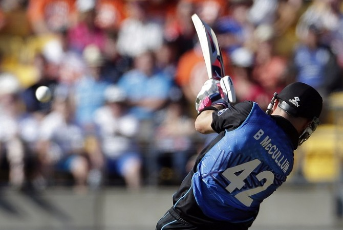 Brendon McCullum New Zealand World Cup 2015