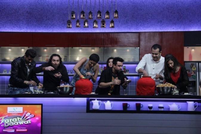 Bigg Boss Contestants in 'Farah Ki Daawat'