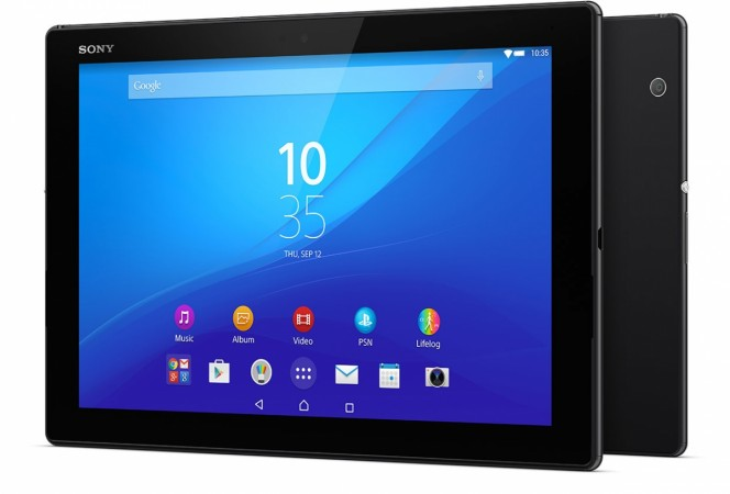 Sony Launches World's Thinnest Xperia Z4 Tablet With 2K Screen; Specifications, Features and Price