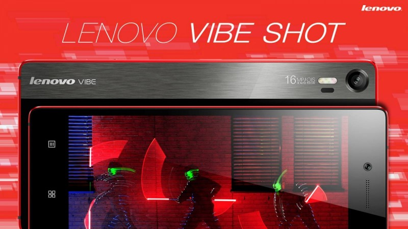 Lenovo Packs Stunning 16MP OIS Camera In Vibe Shot Smartphone; Features, Price And Availability