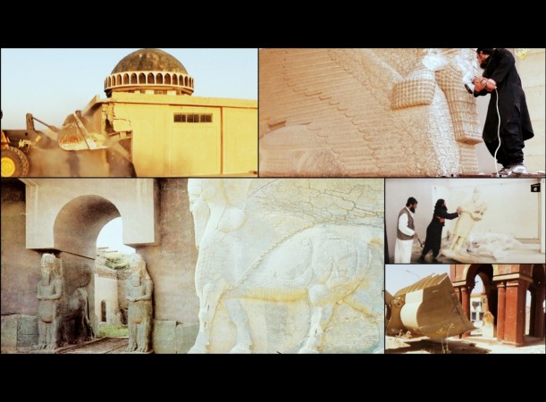 Isis in the past months have destroyed several historical buildings and artefacts in Iraq.